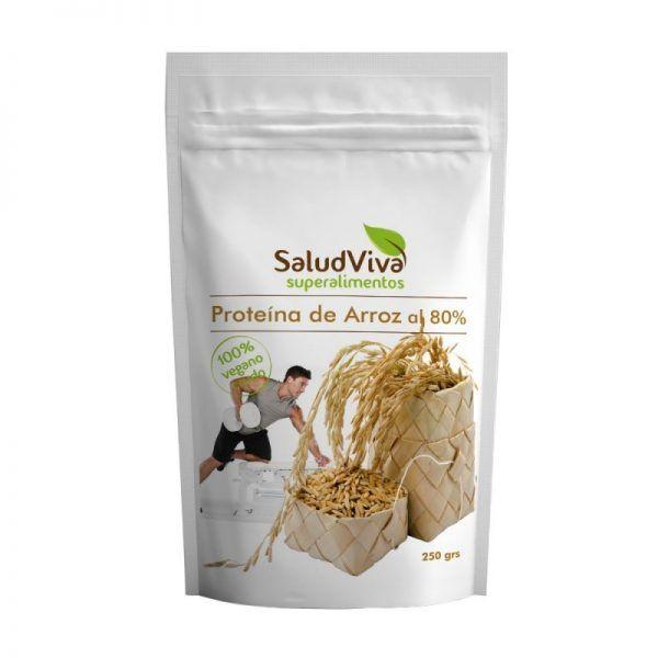 Proteina de Arroz al 80% ECO 250g SALUD VIVA